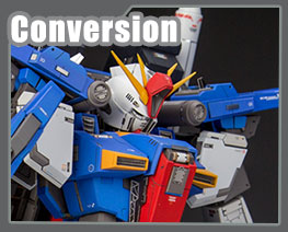 RT3189 1/100 MSZ-010 ZZ Gundam Version KA Conversion Parts