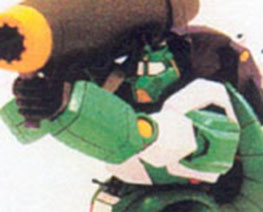RT1298  Super Robot Green