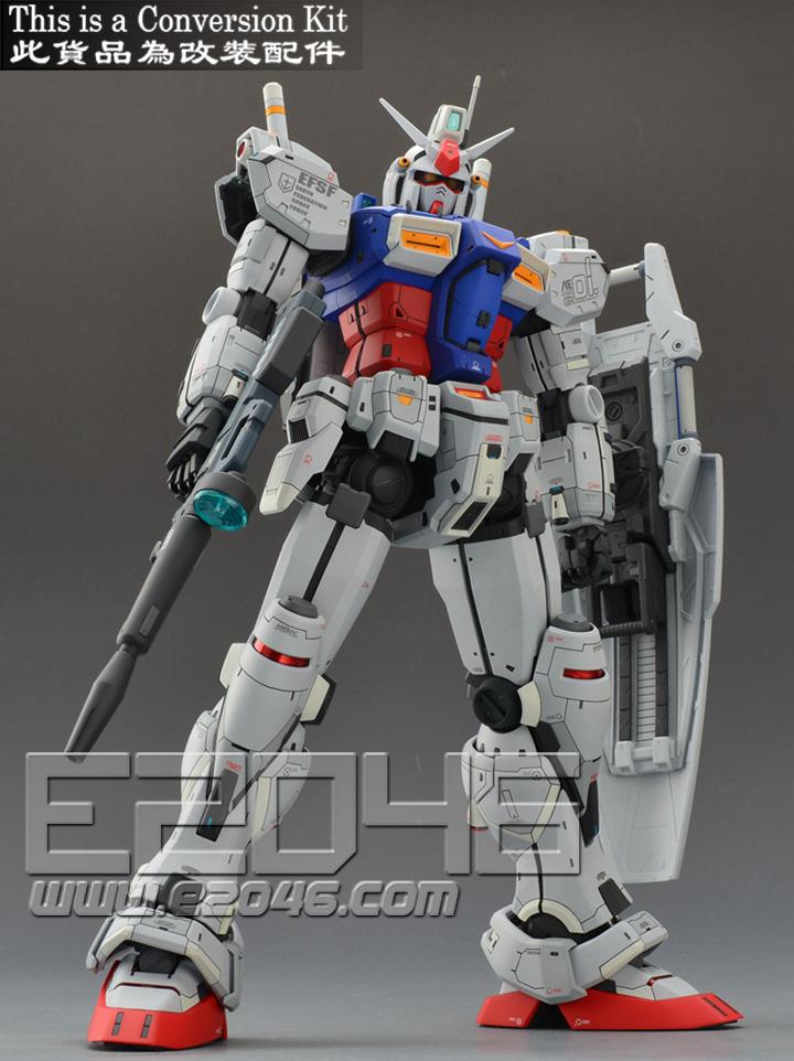 RX-78 GP01 Gundam Conversion Kit