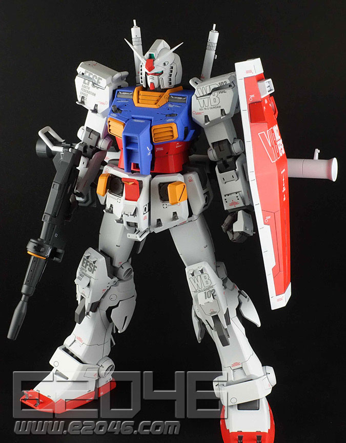 RX-78-2 Gundam Ver Ka Hatch Open Version