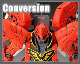 RT1664 1/100 MSN-06S Sinanju Conversion Kit