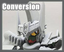 RT3624 SD SD Barbarian Knight Conan Gundam Conversion Kit