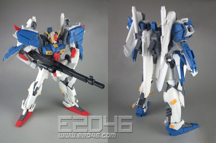Posable S Gundam with ABS Joints