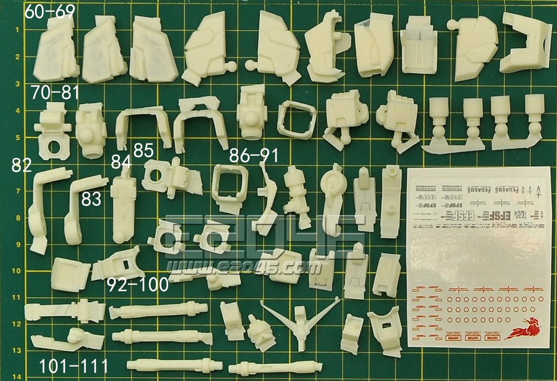 RX-78-2 Version Evolve 15 Conversion Parts