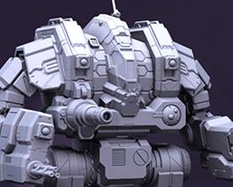 RT3492 1/100 MWO Robot