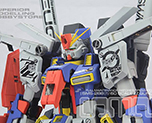 RT2523 1/60 MSZ-010 ZZ Gundam SMS Version