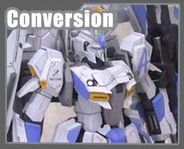 RT2975 1/100 MSZ-006-3A Zeta Gundam 3A Type Conversion Parts Special Version