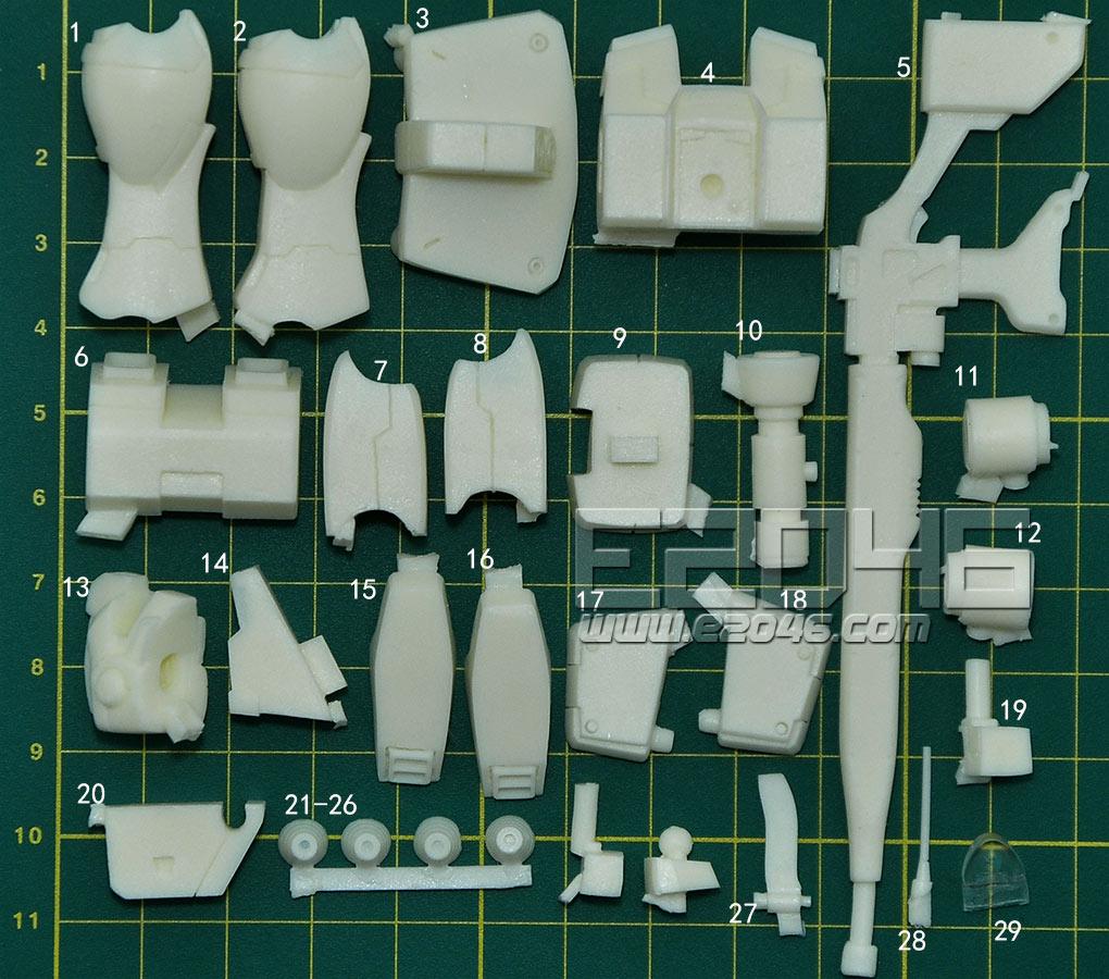 GM Sniper Conversion Parts