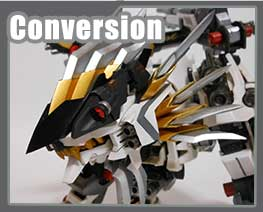RT2992 1/72 Genesis Mugen Liger Conversion kit
