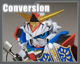 RT3466 SD SD Gundam Heavy Armor Knight F90 Conversion Kit