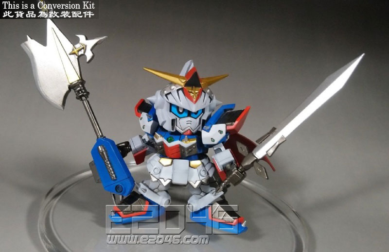 SD Gundam Heavy Armor Knight F90 Conversion Kit
