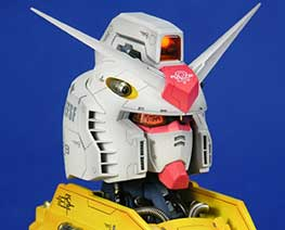 RT1570 1/35 LED RX-78 Bust
