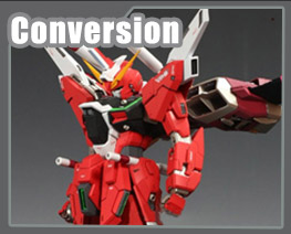 RT1746 1/100 ZGMF X19A Infinite Justice Gundam Conversion Parts