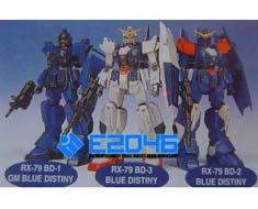 RT0649 1/220 RX-79 BD-1