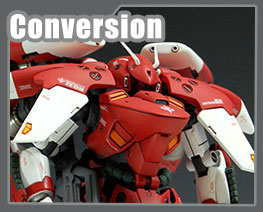 RT1699 1/100 AGX-041 Gerbera-Tetra Custom Conversion Parts