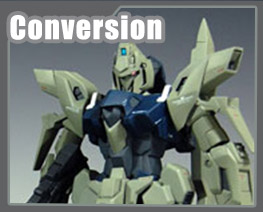 RT1770 1/100 MSN-001A1 Delta Plus Conversion Parts