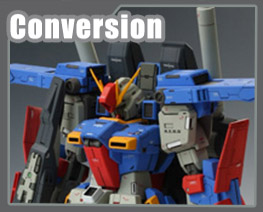 RT1723 1/100 MSZ-010 ZZ Gundam Conversion Parts