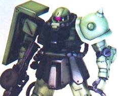 RT0967 1/72 MS-06F2 Zaku II