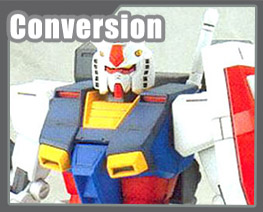 RT1231 1/100 RX-78 High Mobility Type Conversion Parts