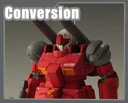 RT1665 1/100 RX-77-2 Gun Cannon Integral Version Conversion Kit