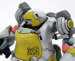 RT3103  Polar Bear Robot Canon Type