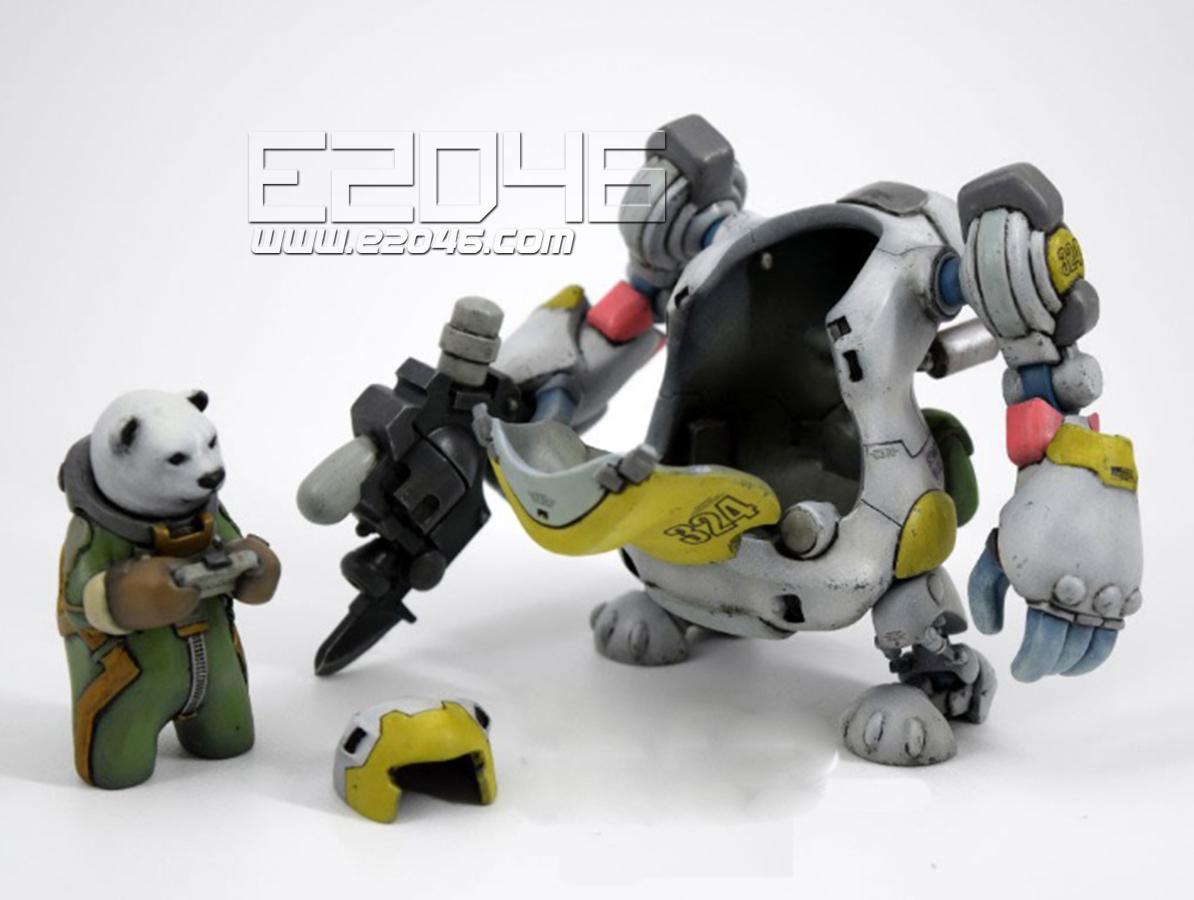 Polar Bear Robot Canon Type