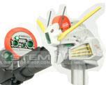 RT1818 1/100 S 鋼彈專用超級激光槍連換裝式頭部
