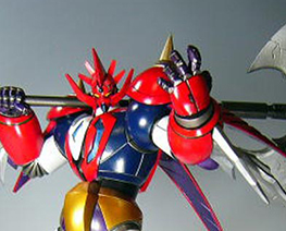 RT0872  Shin Getter Dragon with Axe on Shoulder
