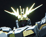 RT1836 1/100 RX-0 Unicron Gundam Banshee Conversion Parts