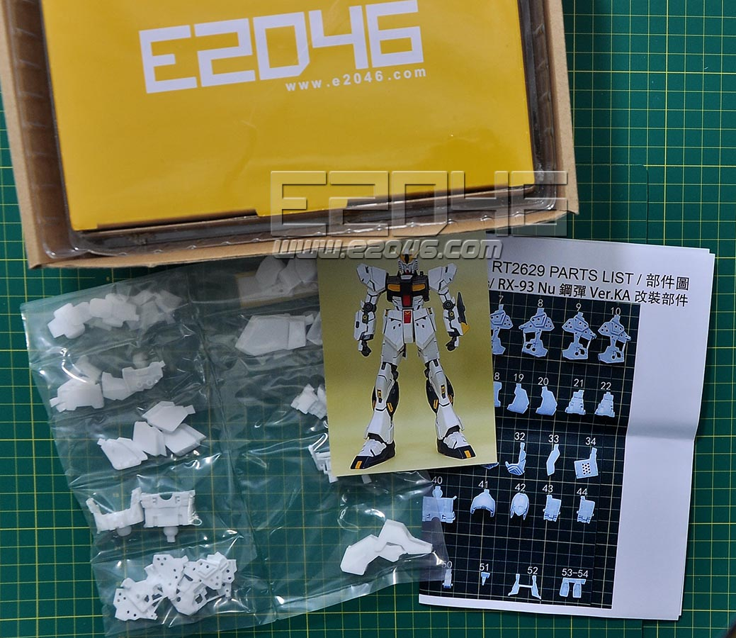 RX-93 Nu Gundam Ver.Ka Conversion Parts
