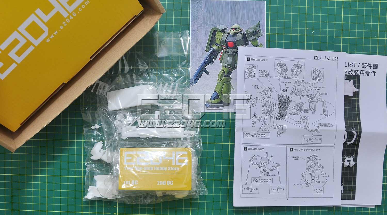 MS-06FZ Zaku FZ Conversion Kit