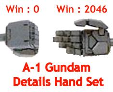 RT1001 1/100 A-1 Gundam Details Hand Set