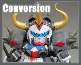 RT3467 SD SD Gundam Fighter F90 Jr. Conversion Kit