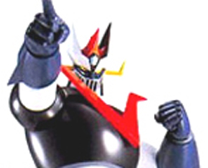 RT0774  Great Mazinger Standing and Pointing