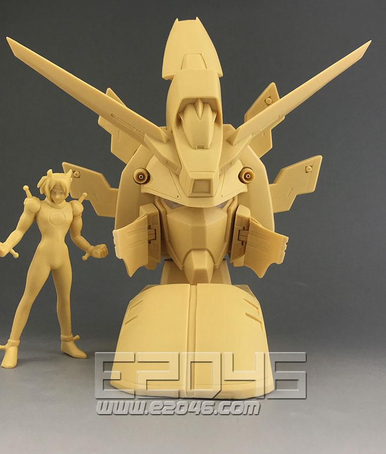 GF13-017NJ 闪光钢弹胸像