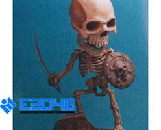 RT0388  SD 核骨战士