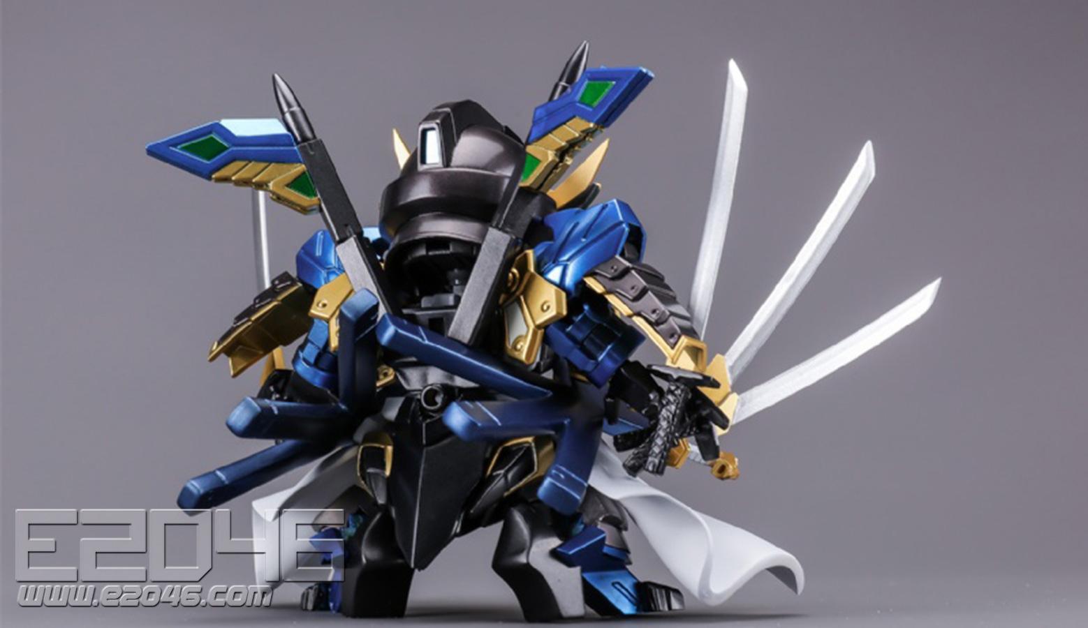 SD Date Masamune Vidar Gundam