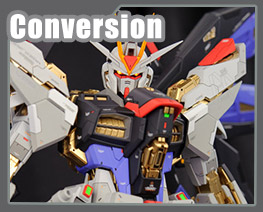 RT3115 1/60 ZGMF-X20A Strike Freedom Gundam Conversion Kit