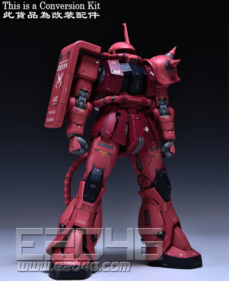 Zaku II Commander Type Conversion Kit