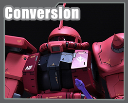 RT3513 1/100 Zaku II Commander Type Conversion Kit