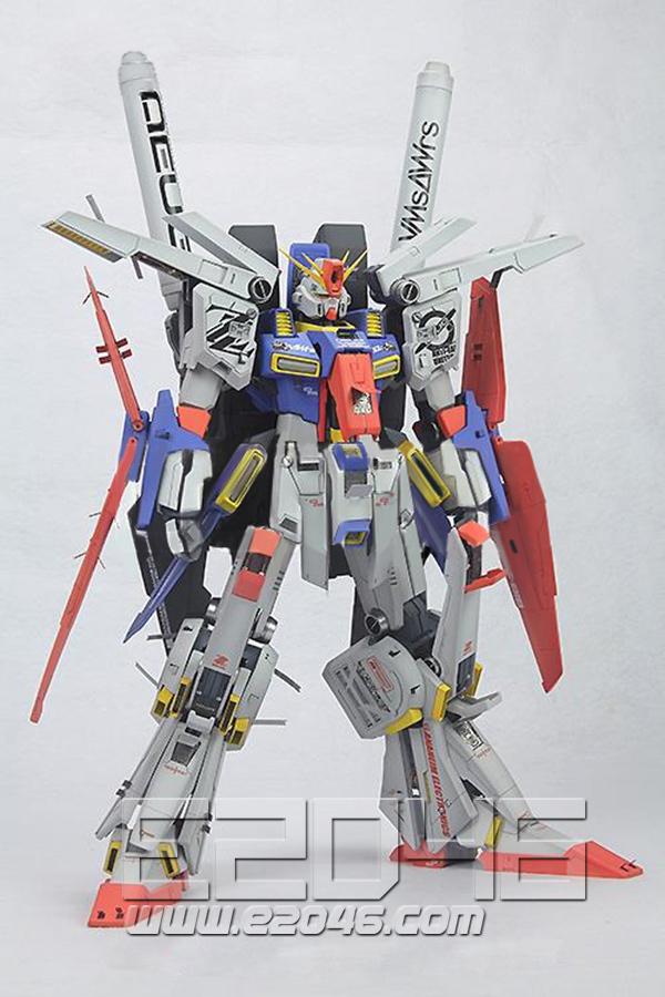 MSZ-010 ZZ Gundam Special Version