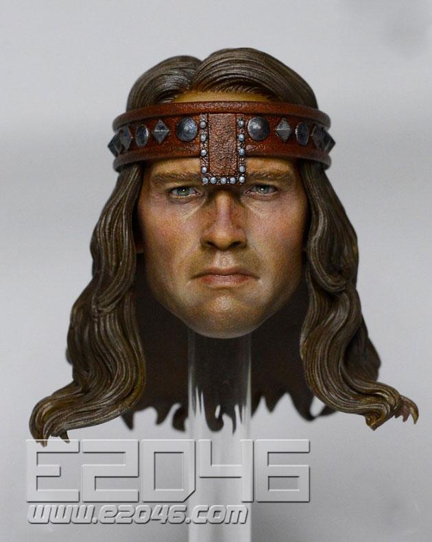 Barbarian Conan Head Carving (DOLL)