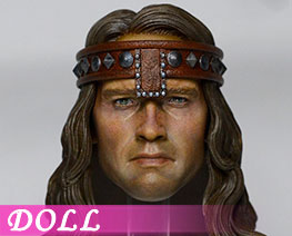 DL1705 1/6 Barbarian Conan Head Carving (DOLL)