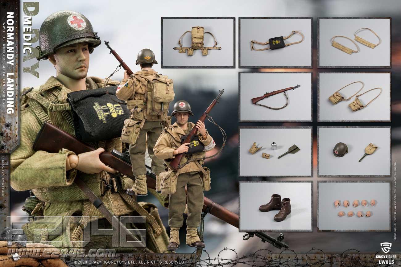 US Medical Corps Of World War II (DOLL)