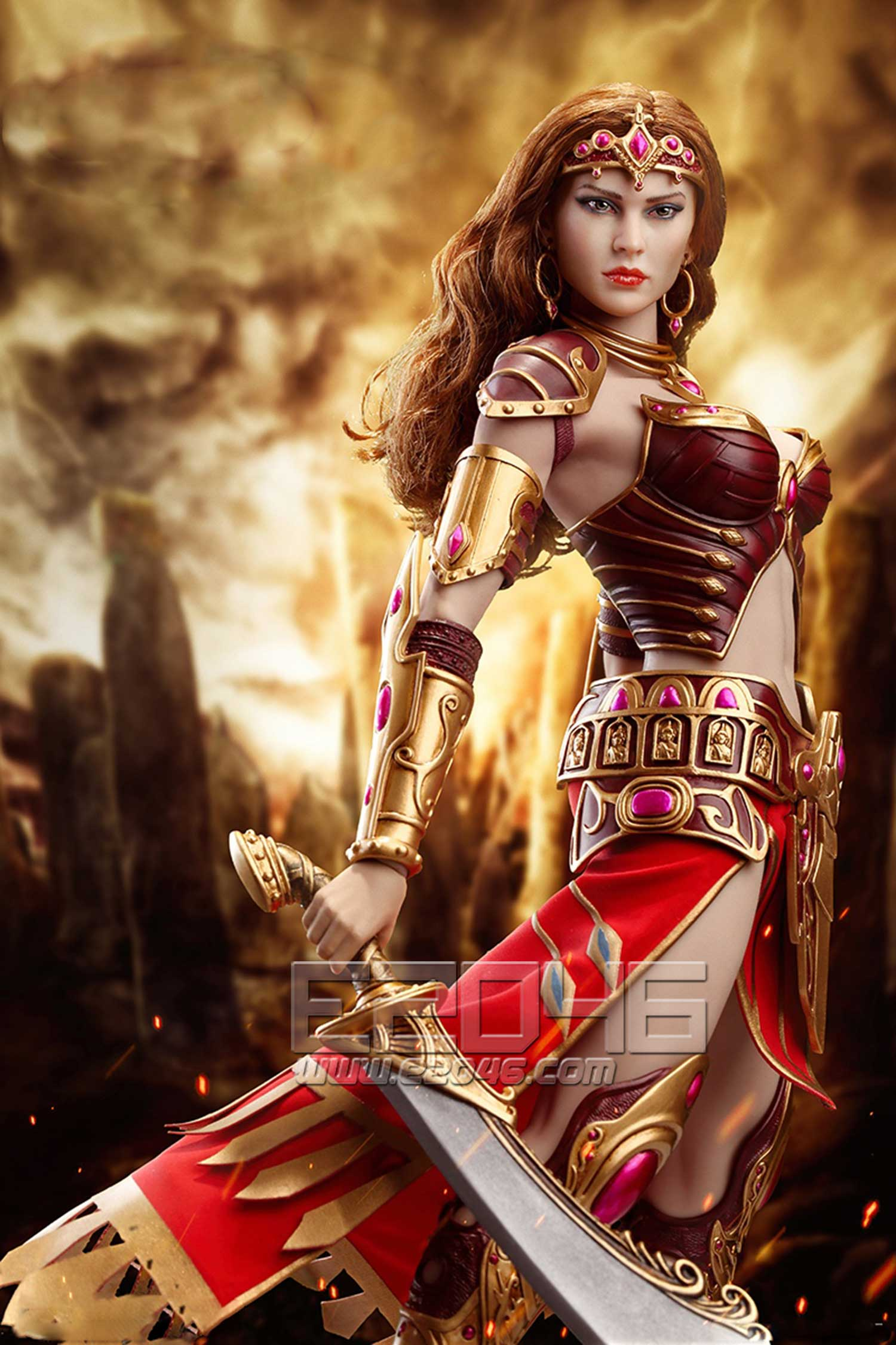 Fighter Woman (DOLL)