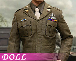 DL2356 1/6 U.S.Army Officer Uniform Suit B (DOLL)
