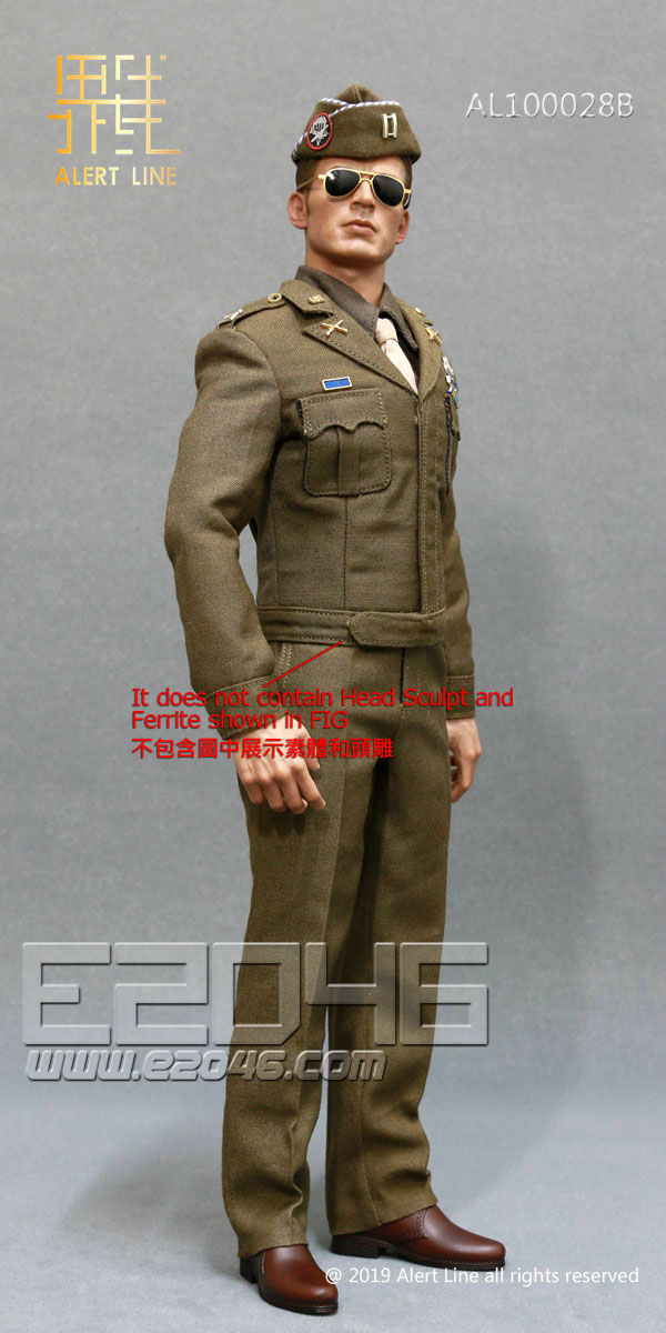 U.S.Army Officer Uniform Suit B (DOLL)