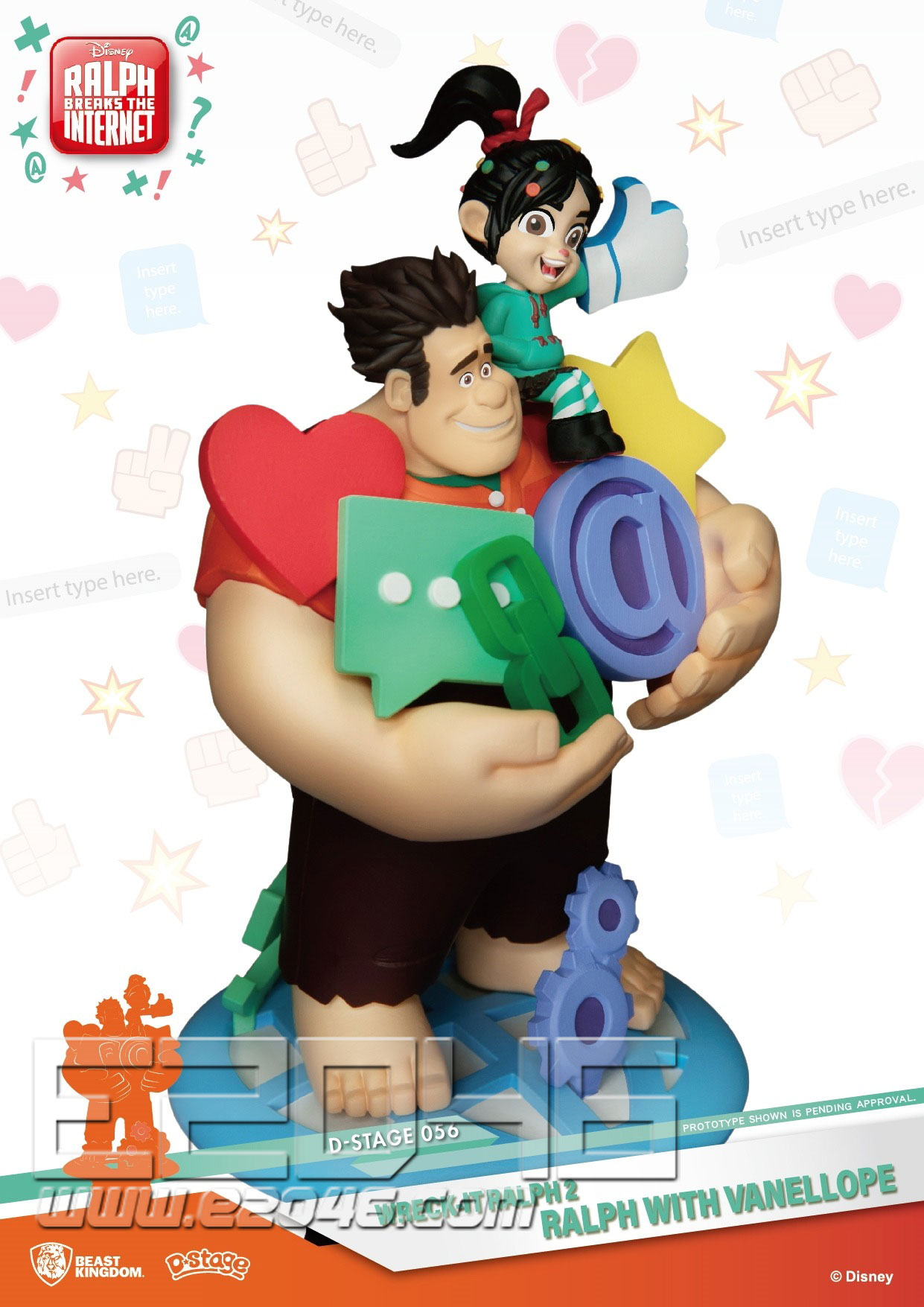 Ralph with Vanellope (DOLL)