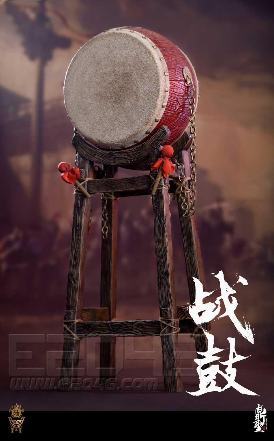 Ming Dynasty War Drum (DOLL)