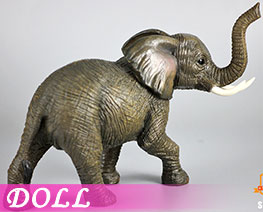 DL2213 1/12 Little elephant (DOLL)